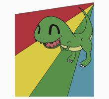 Smiling Dinosaur by David Brandon