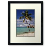 """"""" South Pacific """" Framed Print"""