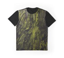 Whimsical Whirl Of Green  Graphic T-Shirt