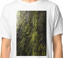 Whimsical Whirl Of Green  Classic T-Shirt