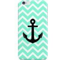 Tiffany Zigzag Chevron Pattern Anchor iPhone Case/Skin