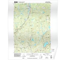 USGS TOPO Map New Hampshire NH Marlow 329658 1998 24000 Poster