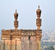 Golconda Fort by Carl LaCasse
