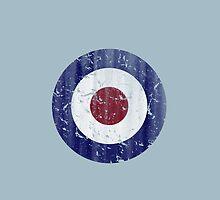 Vintage UK Mod Target by RexLambo