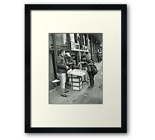 A candid Framed Print