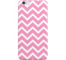 Pink Zigzag Chevron Pattern iPhone Case/Skin