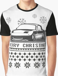 Merry Christmas miata Graphic T-Shirt