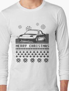 Merry Christmas miata Long Sleeve T-Shirt