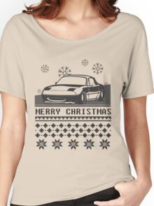 Merry Christmas miata Women's Relaxed Fit T-Shirt
