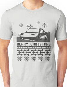Merry Christmas miata Unisex T-Shirt