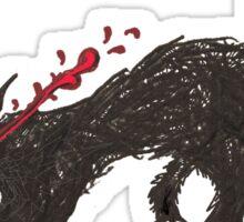 Big Bad Wolfie Sticker
