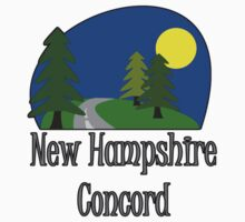 New Hampshire Concord truck stop tee Kids Tee