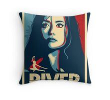 She Can Kill You With Her Brain Throw Pillow