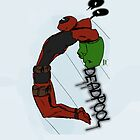 Deadpool The Hulk by zombieCraig