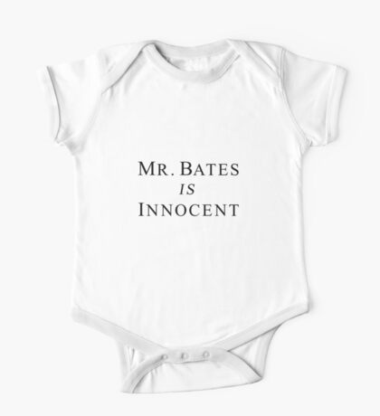 Mr.Bates is Innocent One Piece - Short Sleeve
