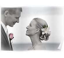 Groom and Bride Poster