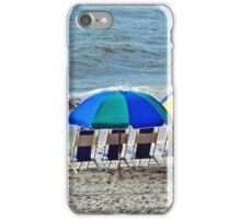 Beach Chairs on Myrtle Beach iPhone Case/Skin
