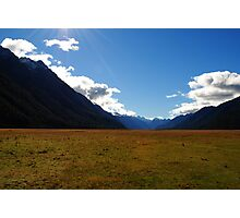 mountains and valleys Photographic Print
