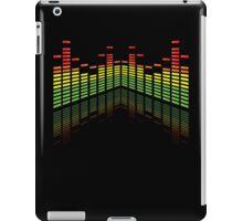 Colored Equalizer on Black iPad case iPad Case/Skin