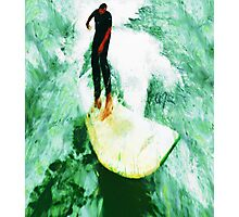 The Surfing Hobbit  Photographic Print