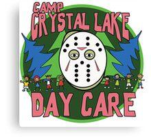 Camp Crystal Lake Daycare Canvas Print