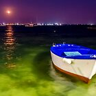 Porto Cesareo - The Boat by Renzo Re