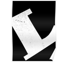 Introducing the letter L Poster