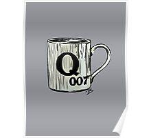 Letter Q, for 007 points... Poster
