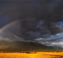 Summer Rainbow - Eastern Sierra, CA by Cat Connor