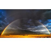 Summer Rainbow - Eastern Sierra, CA Photographic Print