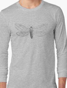 Vintage Moth Long Sleeve T-Shirt