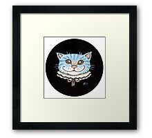 Cheshire Puss Framed Print