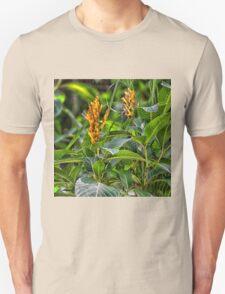 Sanchezia, Zebra Plant Unisex T-Shirt