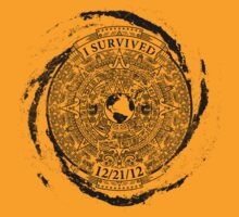 I Survived 12/21/12 (Black) by Cow41087