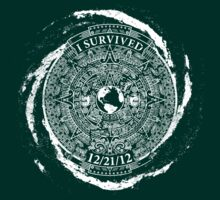 I Survived 12/21/12 (White) T-Shirt