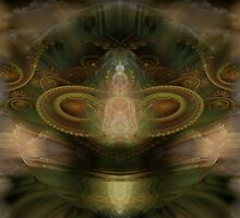 Seed of Compassion by Craig Hitchens - Spiritual Digital Art