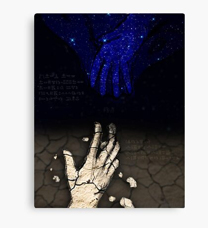 The Torment of Nut and Geb Canvas Print