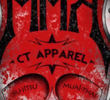 MMA CT Apparel Sticker