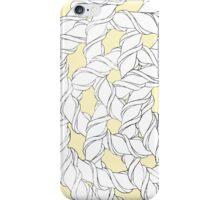 Interlocking Helices Black/White iPhone Case/Skin
