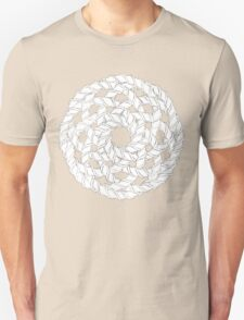 Interlocking Helices Black/White T-Shirt