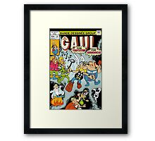 The Mighty Gaul Framed Print