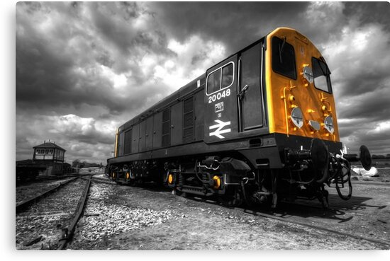 The class 20 (mono) by Rob Hawkins