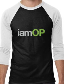 iamOP T-Shirt Men's Baseball ¾ T-Shirt