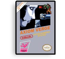 NES Axiom Canvas Print