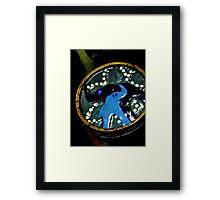 Blue Elephant Love Box Framed Print