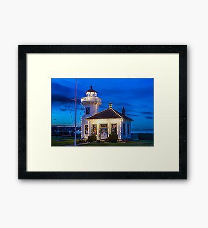 Mukilteo Lighthouse Framed Print