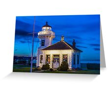Mukilteo Lighthouse Greeting Card