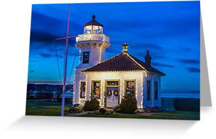 Mukilteo Lighthouse by Jim Stiles