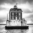 New London Ledge Lighthouse by Timothy Borkowski