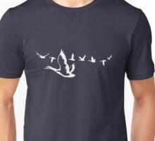 ducks in flight Unisex T-Shirt